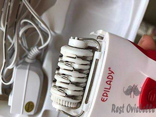 Hair Removal Epilator - Epilady Legend 4th Generation Rechargeable Epilator Customer Image