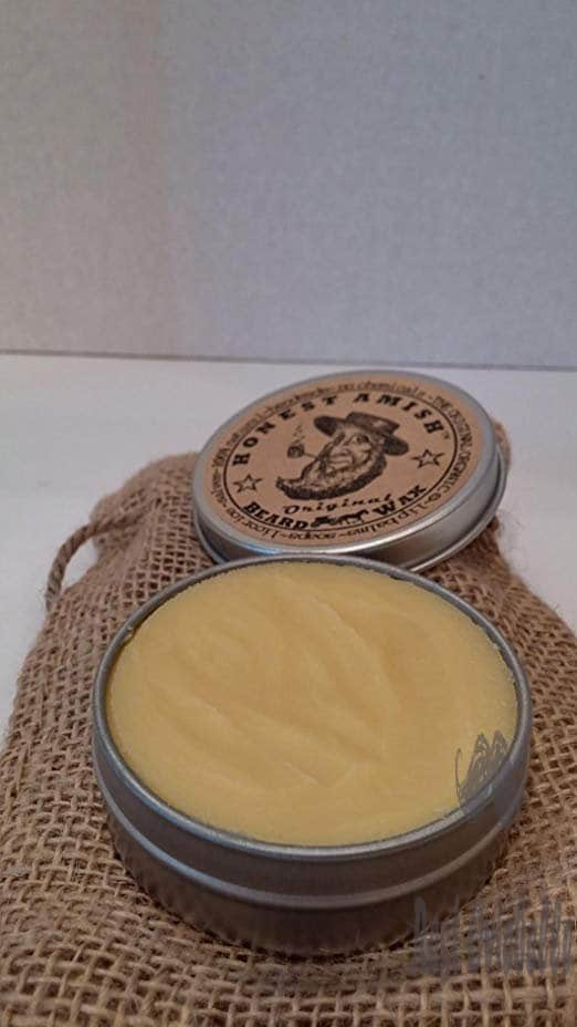 Honest Amish Original Beard Wax - Made from Natural and Organic Ingredients Customer Image
