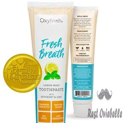 Oxyfresh Maximum Fresh Breath Lemon