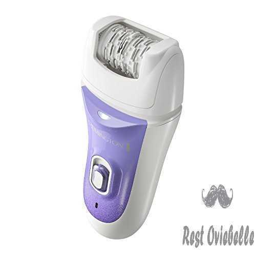 Remington Smooth & Silky Deluxe Rechargeable Epilator, Purple, EP7030E