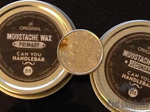 Secondary Strong Hold Moustache Wax For Men | All-Natural Ingredients | 1 Oz. Stainless Steel Tin Customer Image 3