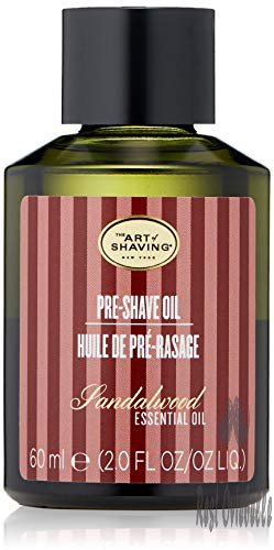 The Art of Shaving Pre-Shave Oil, Sandalwood, 2 fl. oz.