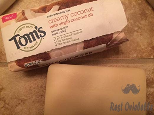 Tom's of Maine Natural Beauty Bar, Bar Soap, Natural Soap, Creamy Coconut with Virgin Coconut Oil, 5 Ounce, 6-Pack Customer Image 1