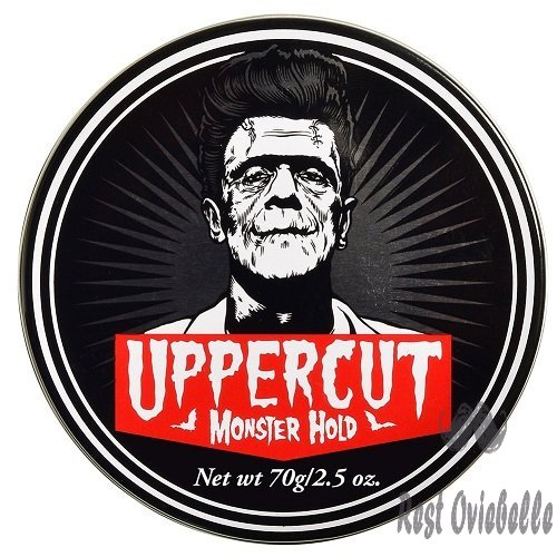 Uppercut Deluxe Monster Hold Pomade 2.5oz - Heavy & Strong Hold - Waxy, High Shine - Sweat Resistant