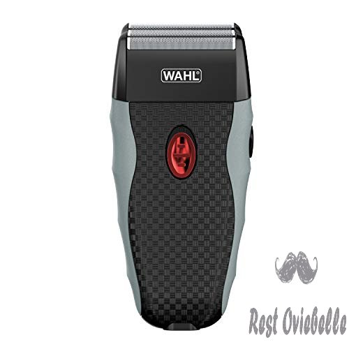 Wahl Bump-Free Rechargeable Foil Shaver With Hypoallergenic Titanium Cutters for Close, Smooth Shaving - model 7339-300