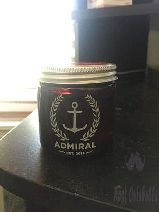 Admiral Classic Pomade (Strong Hold/Medium Shine) 4oz - Paraben Free - Professional Grade Formula for Straight, Thick or Curly Hair Customer Image 3