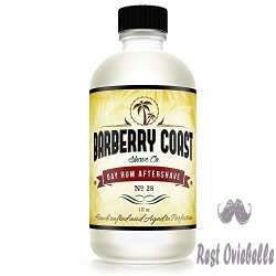 Bay Rum Aftershave by Barbary Coast Shave Co