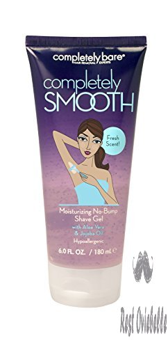 Completely Bare Completely SMOOTH Moisturizing No-Bump Shave Gel