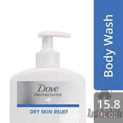 Dove DermaSeries Fragrance-Free Body Wash, for Dry Skin