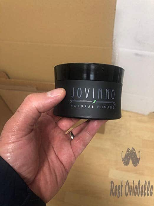 Jovinno Natural Premium Hair Styling Pomade/Hair Wax - Medium to Strong Hold Clear Thick Formula Non-Greasy Water Soluble. Made in France. 5oz (Pack of 1) Customer Image 1