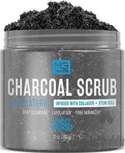 M3 Naturals Activated Charcoal Scrub