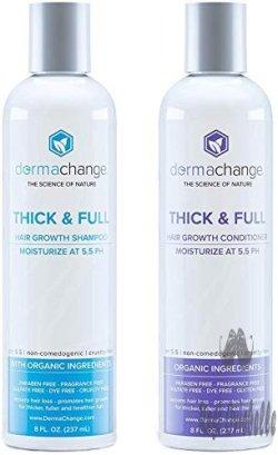 Organic Vegan Hair Growth Shampoo