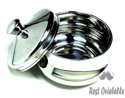 Schöne Stainless Steel Shaving Bowl
