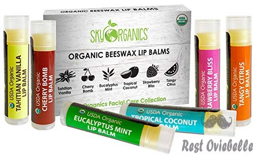 USDA Organic Lip Balm by