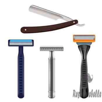 shaving razor mockup set vector realistic illustration - safety razor stock illustrations clip art cartoons & icons What Type Of Razor You Use Can Determine Your Preference