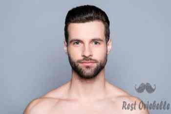 portrait of bearded naked young man after shower - conditioners for men s and pictures best leave in conditioners for men