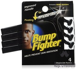 Bump Fighter Men's Disposable Razors
