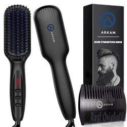 Arkam Beard Straightener for Men,
