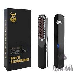 Beard Straightener, Beard Straightening Comb