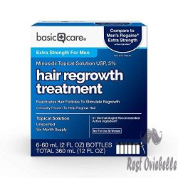Basic Care Minoxidil Topical Solution, Image