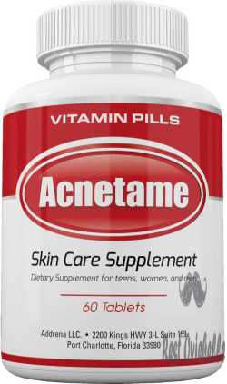 Acnetame Vitamin Supplements For Acne Treatment