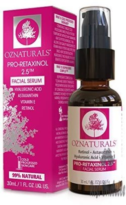 OZNaturals Anti Aging Retinol Serum: