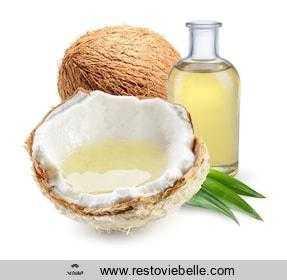 Coconut oil for growth hair