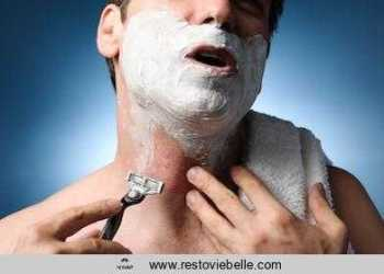 razor burn on neck