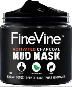 Finevine Activated Charcoal Mud Mask