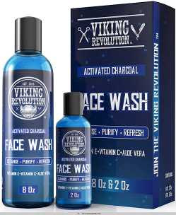 Viking Revolution Charcoal Face Wash For Men