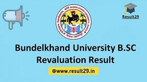 Bundelkhand University B.SC Revaluation Result