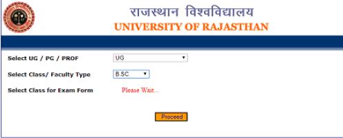 Rajasthan University Admit Card 2020