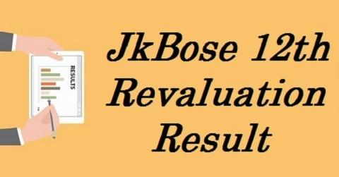 JkBose 12th Revaluation Result