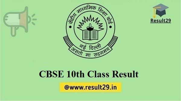 CBSE 10th Class Result