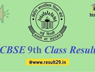 CBSE Class 9th Result