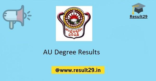 AU Degree Results