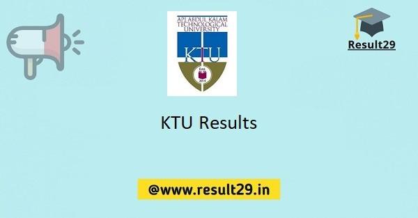 KTU Results