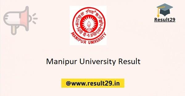 Manipur University Result