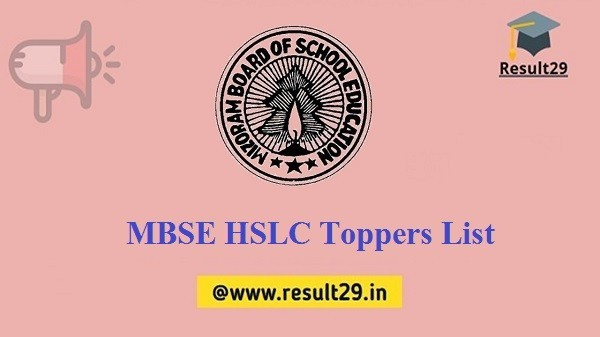MBSE HSLC Toppers List