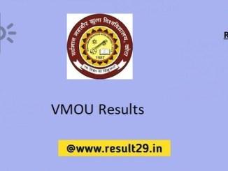 VMOU Results