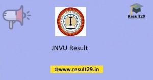 JNVU Result