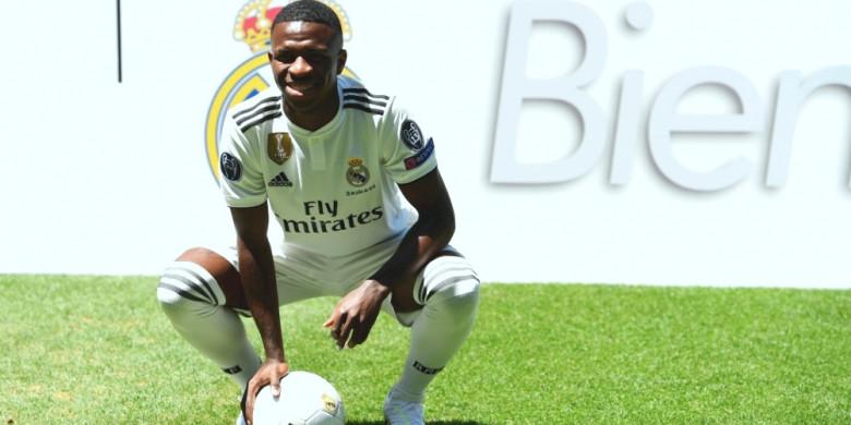 Salah Satu Pemain Muda Real Madrid Vinicius Junior DIkabarkan Dirinya Tidak Takut Bermain Di Kandang Club Skuat Barcelona