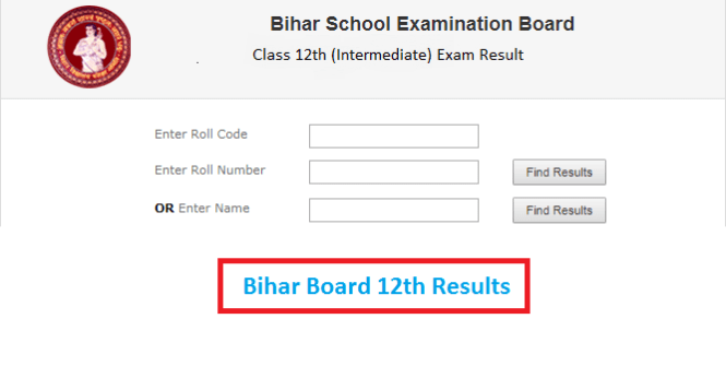 Bihar Board Intermediate 12th Commerce Result 2018