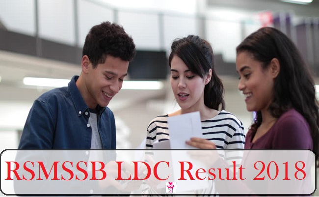 rsmssb junior assistant result 2018