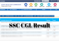 SSC CGL Result 2018-19