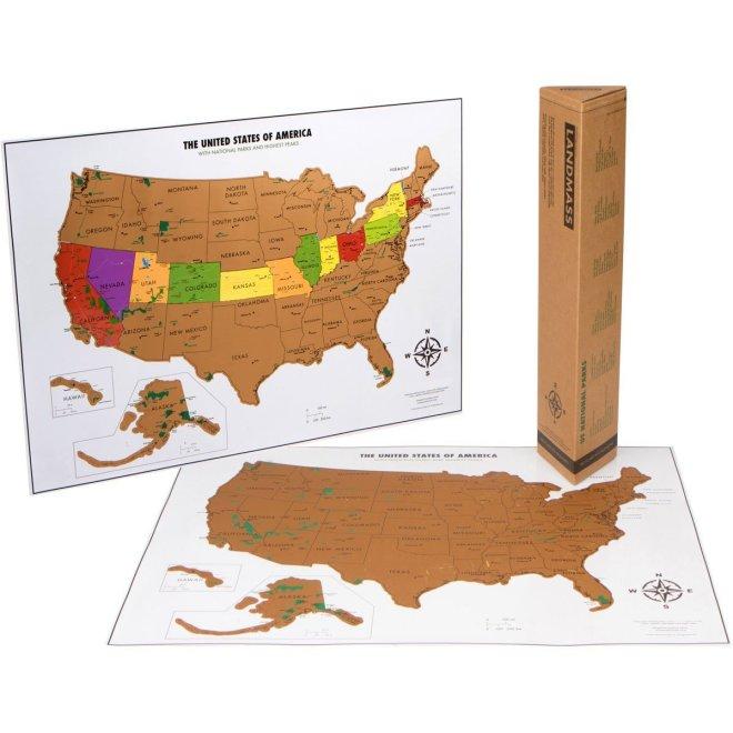 USA Travel Tracker Map