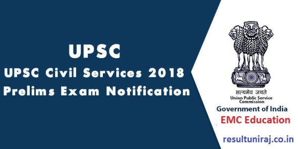 UPSC Civil Services Notification 2019, IAS Exam Date ...