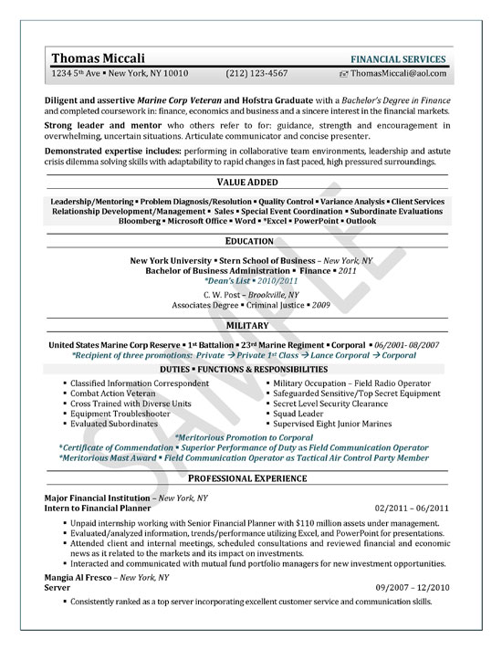 University Student Resume Example Sample