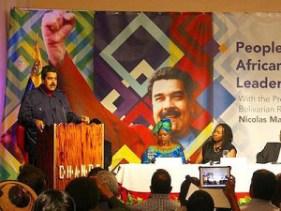 Maduro in Harlem