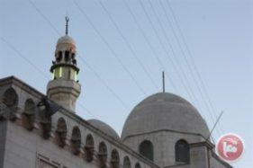 A mosque in Ramallah, MaanImages/Anna Kokko